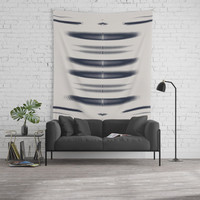 Almost Cozy glitch Wall Tapestry by duckyb