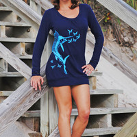Womens fishing clothing sweater