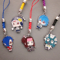DRAMAtical Murder DMMD Cosplay Seragaki Ren Koujaku Cell Phone Chain Accessory