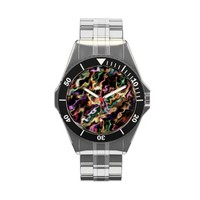 444. Vibrant modern art 555 Watch from Zazzle.com