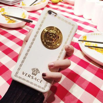 White VERSACE Case for iPhone 8 iPhone 8 Plus iPhone X iPhone XS iPhone XS MAX iPhone XR