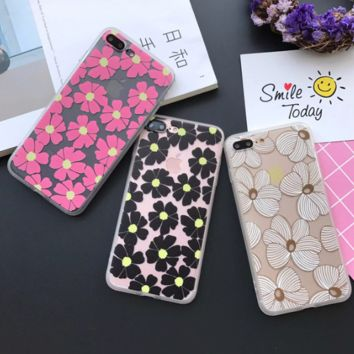Fashion small flower Phone Case Cover for Apple iPhone 7 7 Plus 5S 5 SE 6 6S 6 Plus 6S Plus + Nice gift box! LJ161007-005