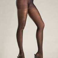 Be Wicked Opaque Sparkle Shimmer Pantyhose