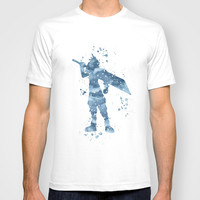 Cloud Final Fantasy T-shirt by Carma Zoe