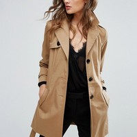 Vero Moda Trench Coat at asos.com