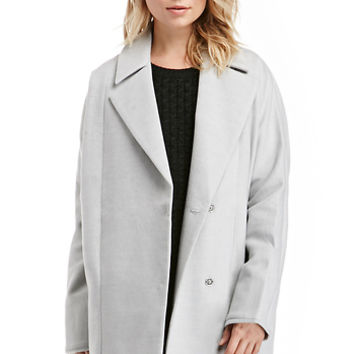 DailyLook: The Fifth Label Walking Home Cocoon Coat in Gray XS - L