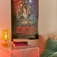 Stranger Things Cinema Poster   Urban Outfitters