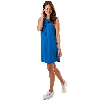 Gameday Dress in Legacy Blue by Southern Tide