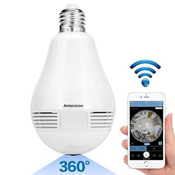 Antaivision 960P Wifi Wireless, IP Bulb Hidden Camera