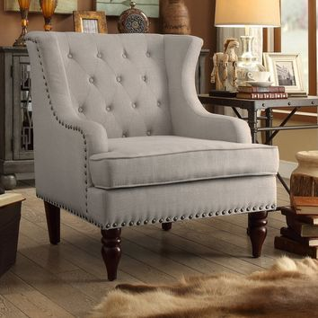 Jewel Wingback Chair