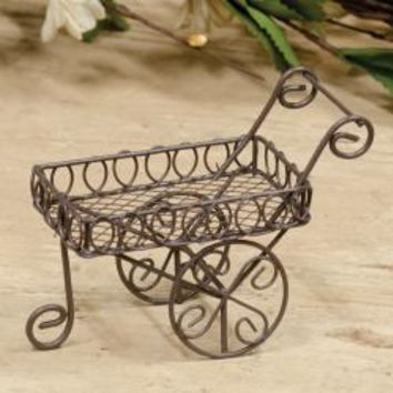 Mini Wire Flower Cart - *FREE SHIPPING*