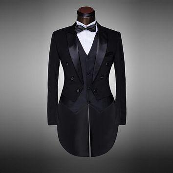 Classic Tux With Tails Multi-Combo Set (See Image)
