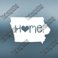 Iowa Home State Svg Dxf Pdf Jpg Cut File | Iowa pdf File | Love JPG Sticker | Svg Dxf Jpg Jpeg  PDF | Digital Download | 055