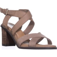 Dr. Scholl's Precise Strappy Heeled Sandals, Putty, 11 US / 41 EU