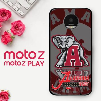 Alabama Crimson Tide X3309  Motorola Moto Z Play Case