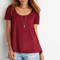 Scoop Neck Swing Top