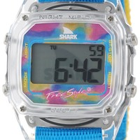 Freestyle Unisex 102245 Shark Fast Strap Retro 80's Watch with Multicolored Nylon Band