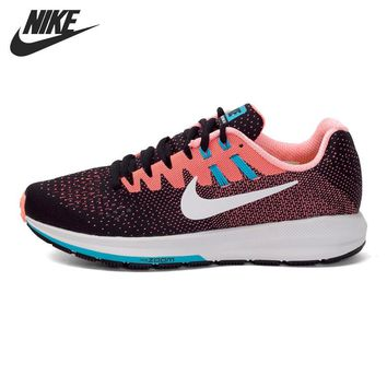 Original New Arrival 2017 NIKE AIR ZOOM STRUCTURE 20 Women's Running Shoes Sneakers