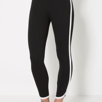 Black Striped Dolphin Jogger | Solid Joggers | rue21