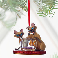 Si & Am Sketchbook Ornament - Lady and the Tramp - Personalizable | Disney Store