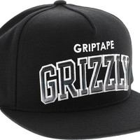 Grizzly Regular Season Hat Adjustible Black