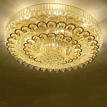 Golden And Silver Shine Home Decor Ceiling Lighting