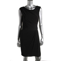 Hayden Womens Stretch Sleeveless Wear to Work Dress