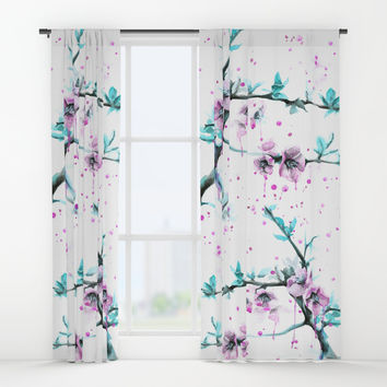 Spring Window Curtains by edrawings38