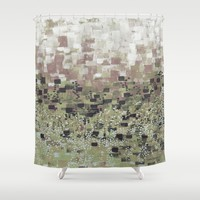 :: Camo Compote :: Shower Curtain by :: GaleStorm Artworks ::