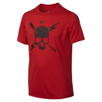 Nike Legend Baseball Skull Boys' T-Shirt
