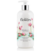 field of flowers | water lily blossom body lotion | philosophy field of flowers