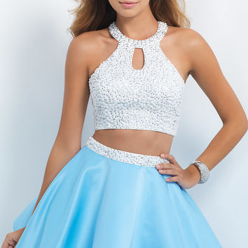 A-Line Two Piece Homecoming Dress by Blush