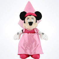 "Disney Parks Authentic Minnie Mouse Princess 9"" Plush New With Tags"