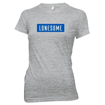 Rolling Stones | Lonesome Block Text T-Shirt