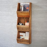 Reclaimed Pine Cubby Shelf