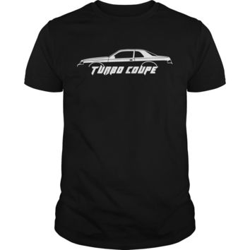 Turbo coupe silhouette turbo coupe 9th gen (1988) shirt Guys Tee