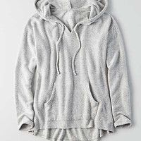 AEO Soft & Sexy Plush Hoodie, Light Heather