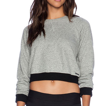 koral activewear Verso Sweater in Gray