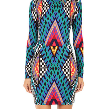 Mara Hoffman Deep V Back Mini Dress