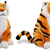 "Disney Store Large/Jumbo 15"" Rajah Plush Stuffed Animal Toy (Princess Jasmine's Tiger from Aladdin)"