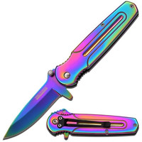 Makin' It Rainbow Hologram Knife