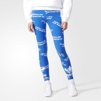 Adidas Originals Fashion Trefoil Leggings Sweatpants