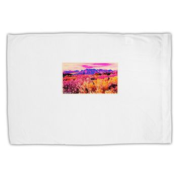 Colorful Colorado Mountains Standard Size Polyester Pillow Case by TooLoud
