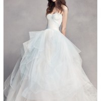 White by Vera Wang Ombre Tulle Wedding Dress - Davids Bridal