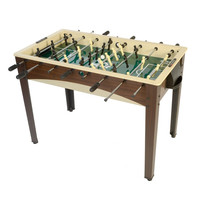 48-Inch Foosball Table with Automatic Ball Return