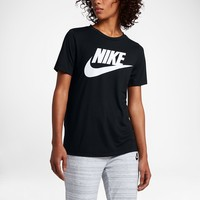 Nike Sportswear Essential Women's Logo Short Sleeve Top. Nike.com