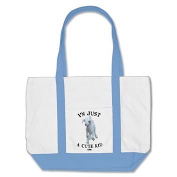Cute Kid Baby Design by Kat Worth Tote Bag