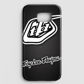 Troy Lee Designs Sportwear Tld Carbon Printed Samsung Galaxy S7 Case