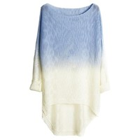 Partiss Women's Gradient Batwing Knitwear