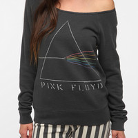 Junk Food Pink Floyd Off-The-Shoulder Sweatshirt